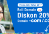 Promo Akhir Tahun, Diskon 20% OFF Pembelian Domain