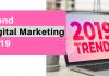 Tren Digital Marketing 2019