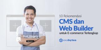 10 Rekomendasi CMS dan Web Builder