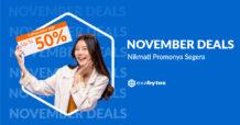November Deals Promo