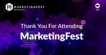 Terima Kasih Telah Menghadiri MarketingFest