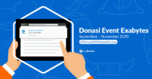Donasi Exabytes September - November 2020