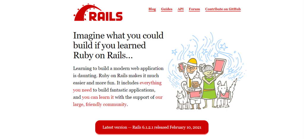 Web Development Framework Terbaik 2021 : Ruby On Rails