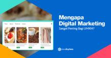 Digital Marketing Penting Bagi UMKM