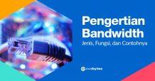Pengertian Bandwidth