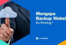 Mengapa backup website penting