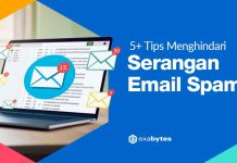 tips menghindari email spam terbaru